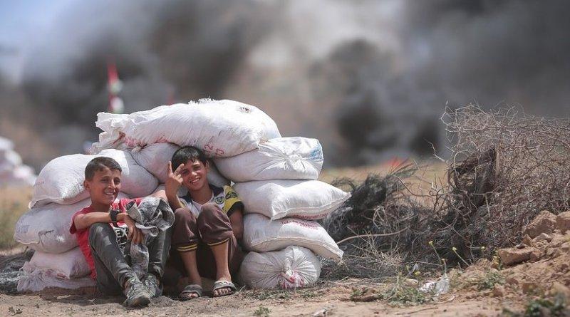 boys children gaza palestine
