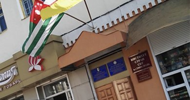 South Ossetian and Abkhaz embassy in Tiraspol. Credit: Keith Harrington