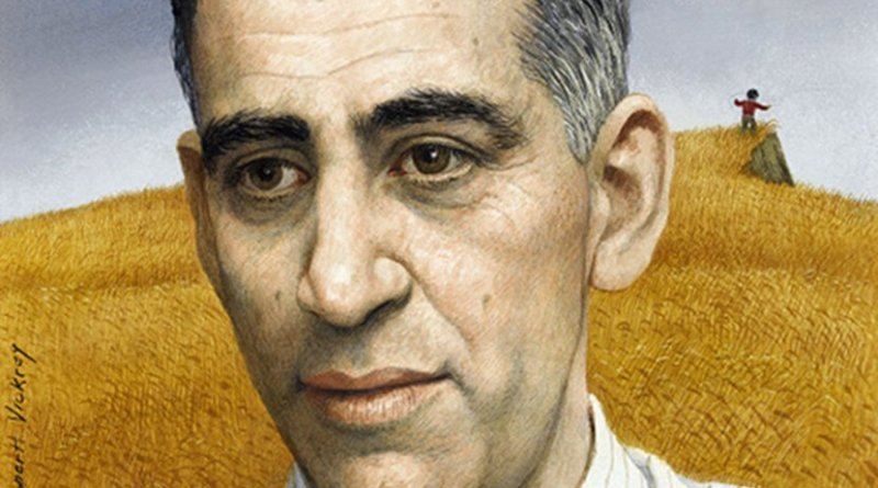 Illustration of J. D. Salinger used for the cover of Time magazine, Volume 78 Issue 11. Credit: Wikipedia Commons.