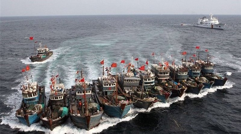 File photo of Chinese fishing fleet. Photo Credit: Tasnim News Agency