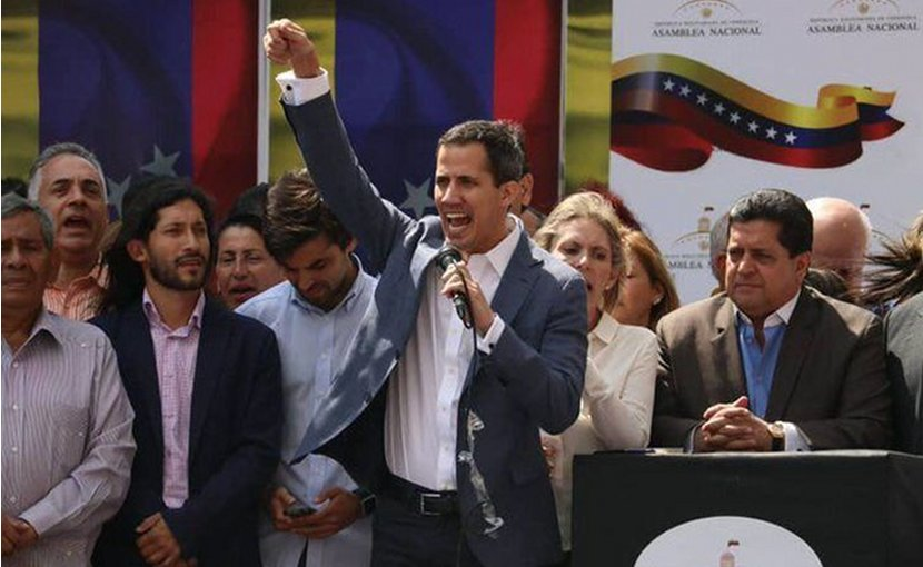 Venezuela's Juan Guaidó. Photo Credit: Agência Brasil, ABr