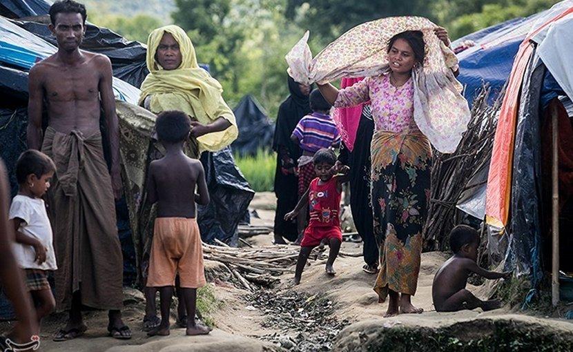 Rohingya refugees. Photo Credit: Tasnim News Agency