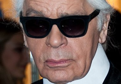 Karl Lagerfeld. Photo Credit: Christopher William Adach, Wikipedia Commons.