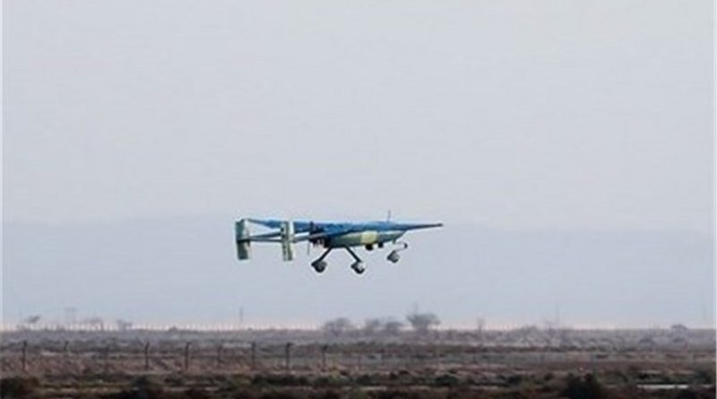 A Iranian drone. Photo Credit: Tasnim News Agency