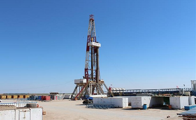 Exploration well in Iraq. Photo Credit: Lukoil
