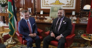 Jordan's King Abdullah II and Morocco's King Mohammed VI