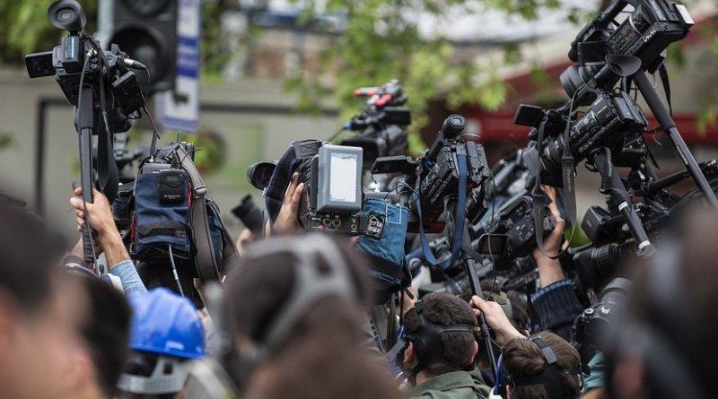 journalist camera press journalism