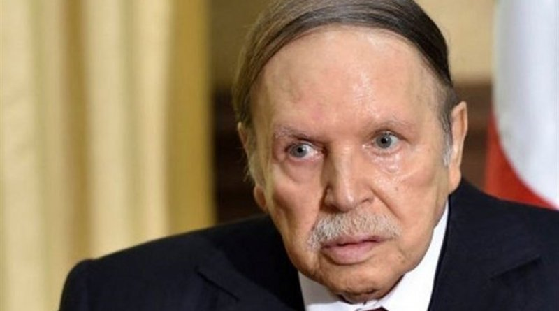 Algeria's Abdelaziz Bouteflika. Photo Credit: Tasnim News Agency