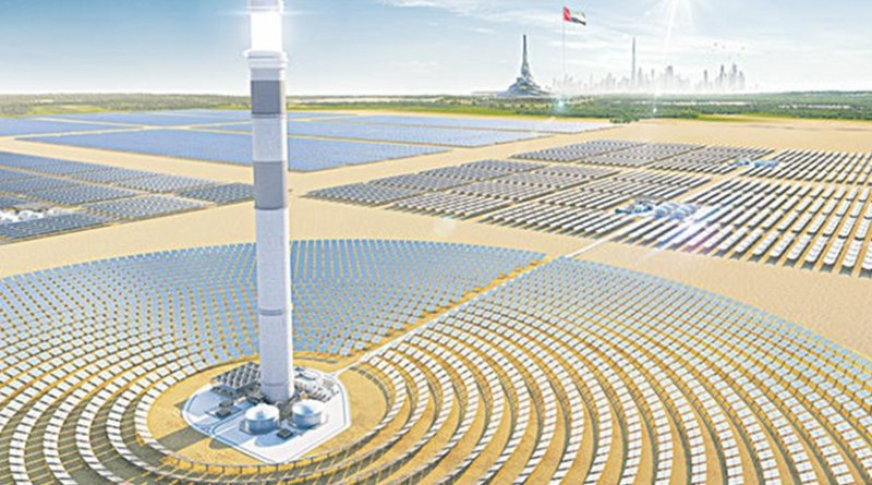 A Saudi developer's plan to harness the sun 24/7 is sparking a renewable energy revolution in the region. Credit: Arab News