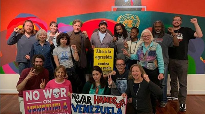 The Embassy Protection Collective after a forum on Africom, April 15, 2019. From the Embassy Protection Collective.