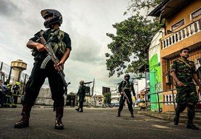 Sri Lankan security forces. Photo Credit: Sri Lanka government.