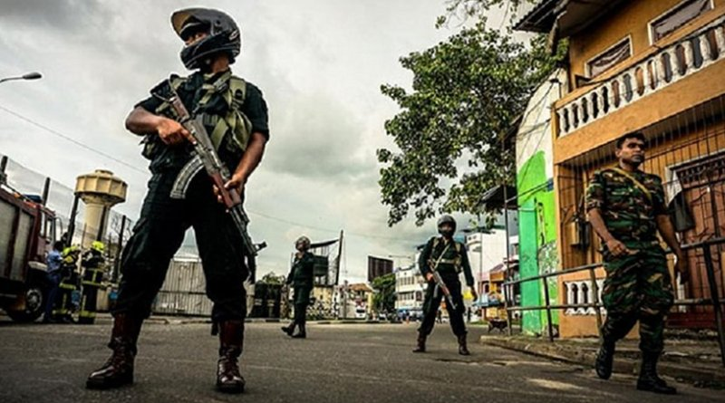 Sri Lankan security forces. Photo Credit: Sri Lanka government.
