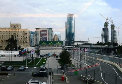 Baku prepares for F1 SOCAR Azerbaijan Grand Prix 2019. Photo Credit: Trend News Agency