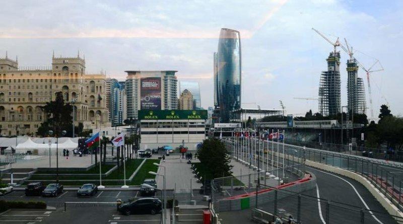 Baku prepares for F1 SOCAR Azerbaijan Grand Prix 2019. Photo Credit: Trend News Agency