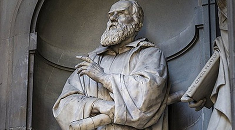 Statue of Galileo in Florence, Italy
