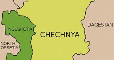 Location of Ingushetia. Credit: Wikipedia Commons.