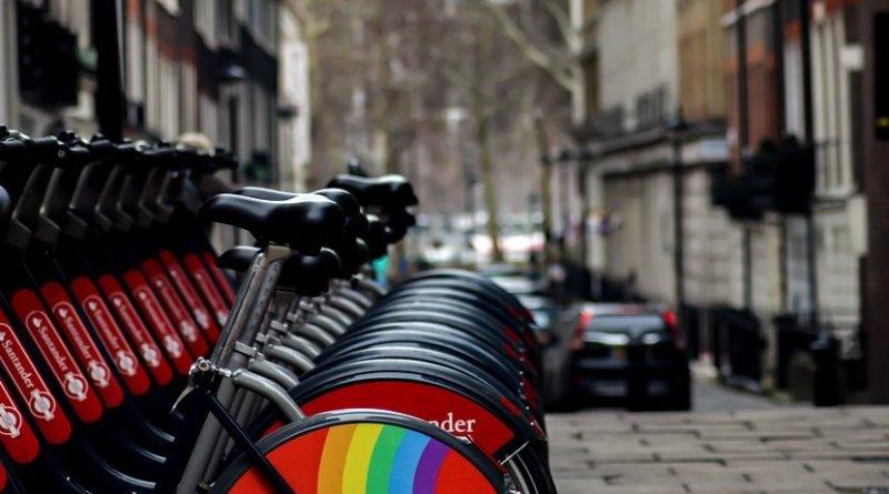 Rental bicycles in London