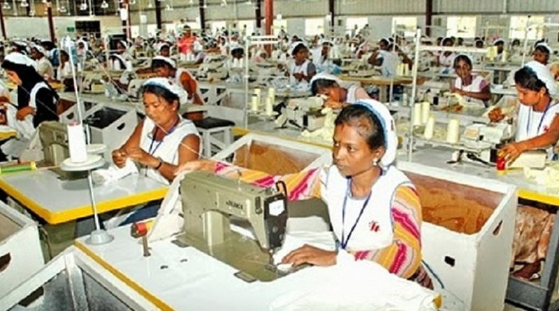 Garment workers. Photo Credit: Sri Lanka government