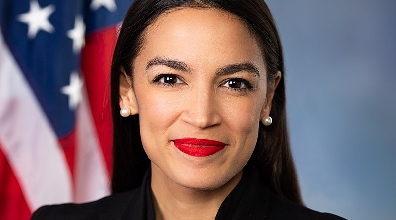 Alexandria Ocasio-Cortez. Official Congressional photo, US House of Representatives.