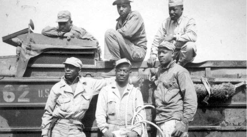 Troops of the 24th Infantry, attached to the Americal Division. Photo Credit: National Archives
