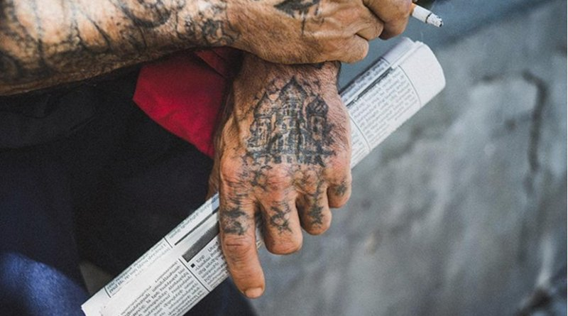 Man with tattoos. Photo: Creative Commons, Theo Paul