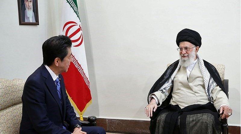 Prime Minister of Japan Shinzo Abe meets with Iran's Ayatollah Khamenei in Tehran. Photo Credit: Tasnim News Agency