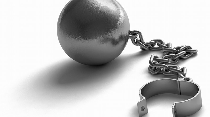 ball and chain shackle