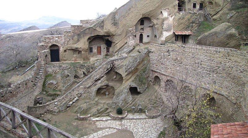David Gareja monastery. Photo Credit: Jonathan Cardy, Wikipedia Commons.