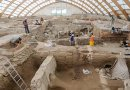 These are excavations in a number of Neolithic buildings at Catalhoyuk. Credit Scott Haddow
