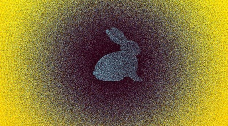 Robots currently attempt to identify objects in a point cloud by comparing a template object -- a 3-D dot representation of an object, such as a rabbit -- with a point cloud representation of the real world that may contain that object. Credit Christine Daniloff, MIT
