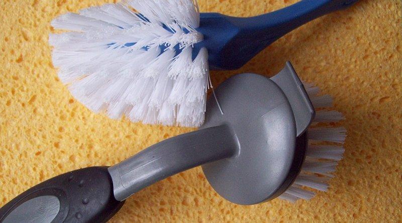 kitchen sponge brush