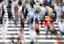 people crowd osaka japan