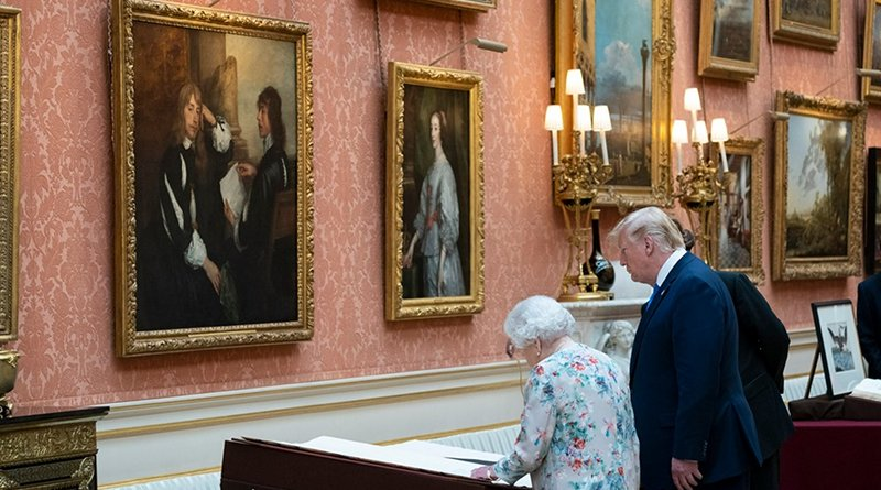 Queen Elizabeth and US President Donald Trump. Photo Credit: White House