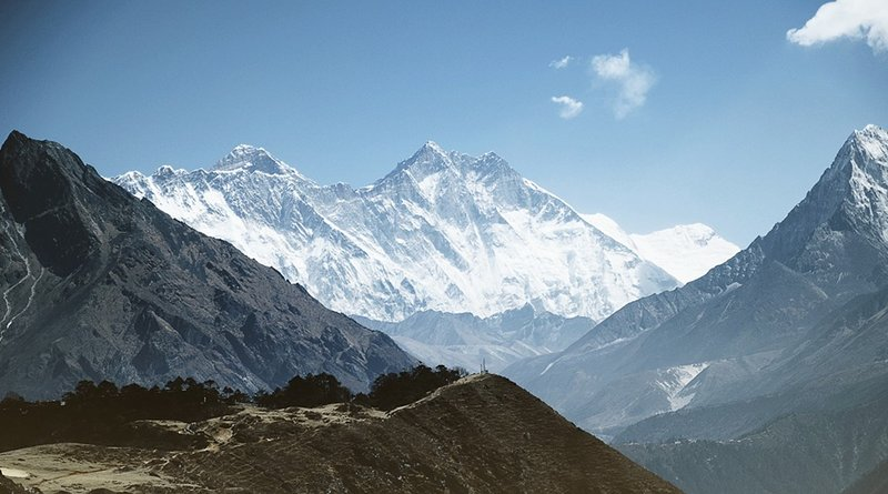 Mt Everest and the Himalayas