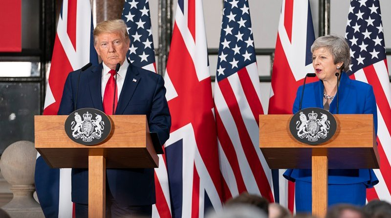 US President Donald Trump and British Prime Minister Teresa May. Photo Credit: The White House