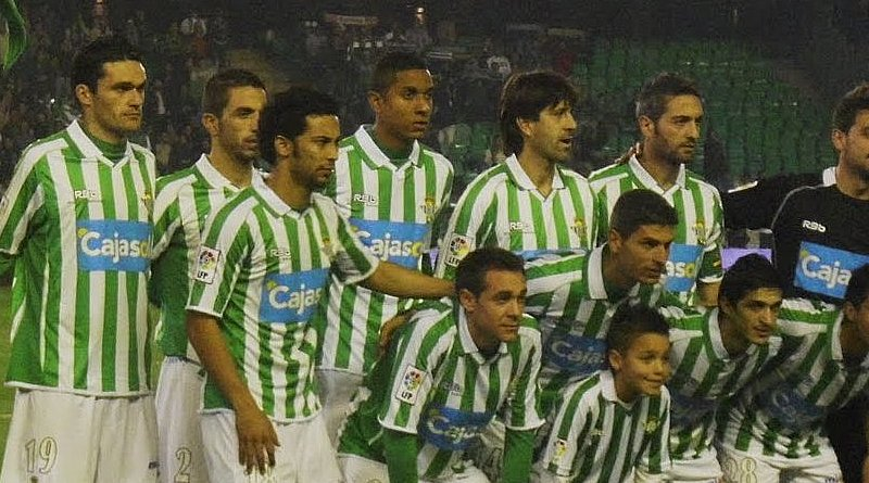 Real Betis football players in 2010-2011. Photo Credit: Erbudetriana, Wikipedia Commons