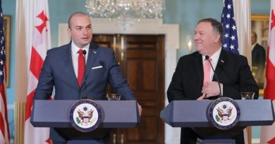 Georgia's Mamuka Bakhtadze and Mike Pompeo, Washington D.C., June 11, 2019. Photo: Prime Minister's press office