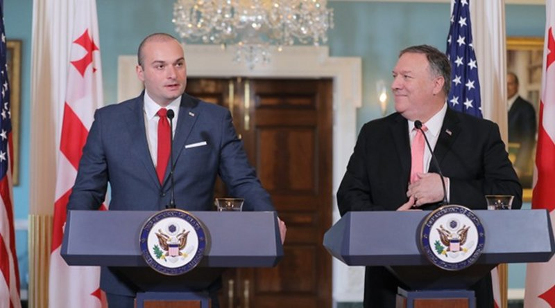 Georgia's Mamuka Bakhtadze and Mike Pompeo, Washington D.C., June 11, 2019. Photo: Prime Minister's press office