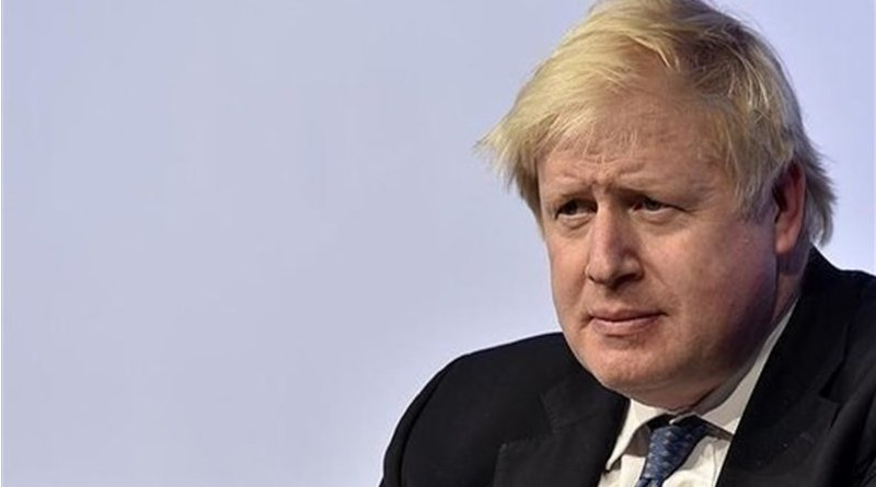 Britain's Boris Johnson. Photo Credit: Tasnim News Agency