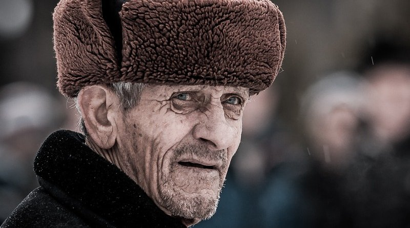elderly russia man