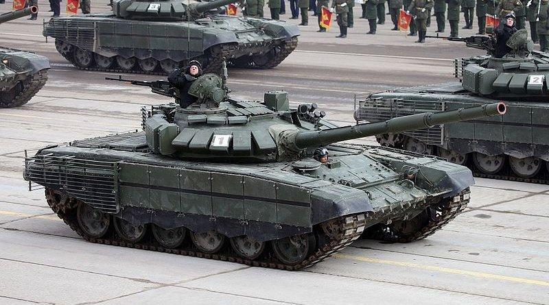 File photo of a Russian T-72 tank. Photo Credit: Vitaly V. Kuzmin, Wikipedia Commons