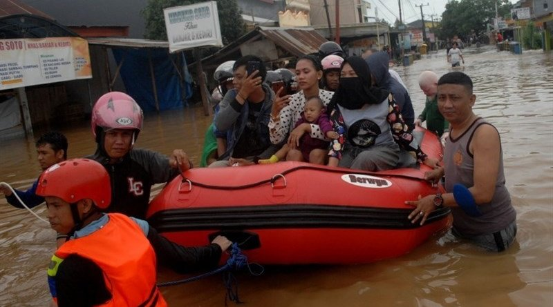 Flooding in Indonesia. File Photo: Tasnim News Agency