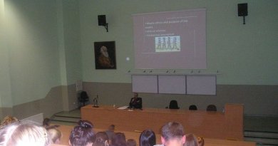 Lecture of Prof. Sabahudin Hadžialić (Freedom and misuse of freedom in media) at University Nicolaus Copernicus, Torun, Poland on 19.10.2016 – copyright@SH – Info: http://www.diogenpro.com/freedom-and-misuse-of-freedom-in-media.html