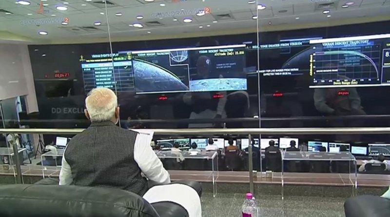 Indian PM Narendra Modi. Photo Credit: ISRO
