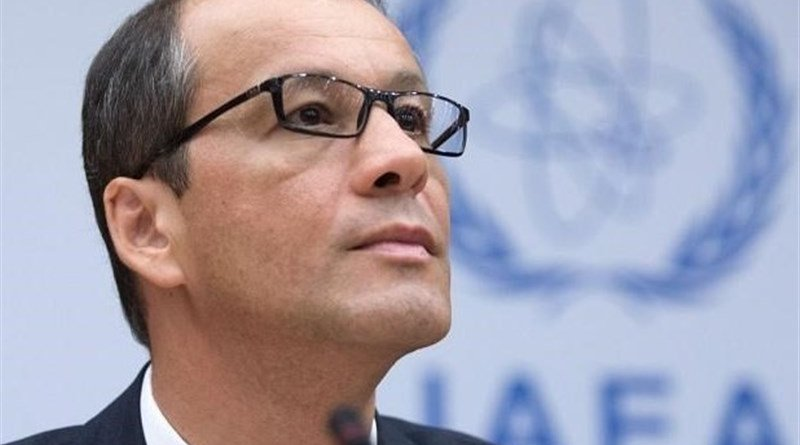 IAEA's Cornel Feruta. Photo Credit: Tasnim News Agency