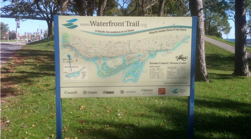 The Waterfront Trail. Photo Credit: Wikiworld2, Wikipedia Commons
