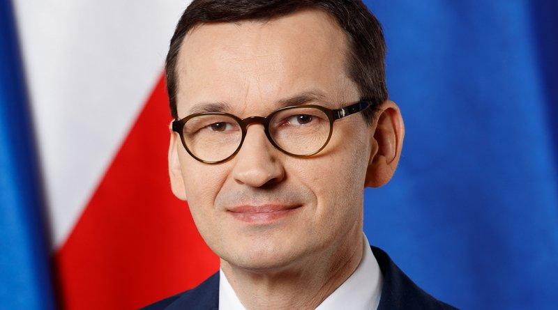 Poland's Prime Minister Mateusz Morawiecki. Photo Credit: Kancelaria Premiera, Wikimedia Commons.