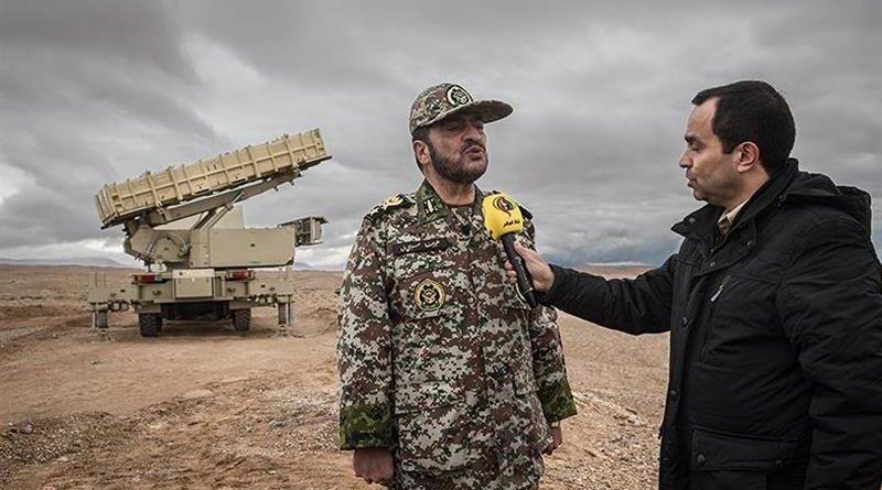 Iran's Brigadier General Alireza Sabahi Fard. Photo Credit: Tasnim News Agency