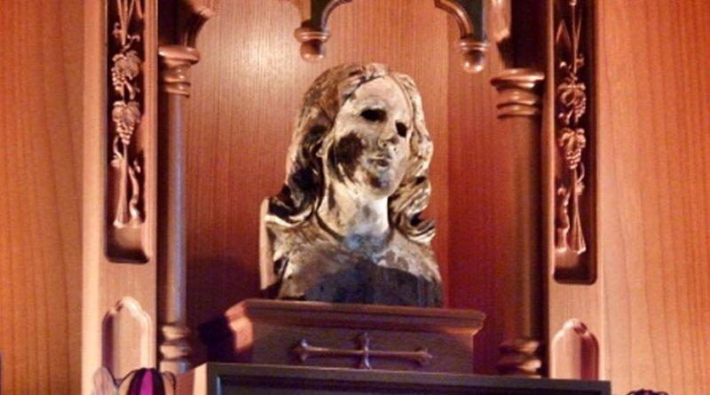 the Virgin of Nagasaki or the Burnt Virgin.