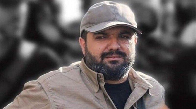 Al-Quds Brigades commander, Baha Abu al-Ata. Photo Credit: Tasnim News Agency